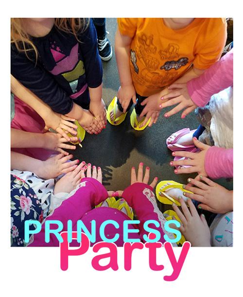 mainicures princess party